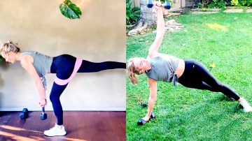 27 MIN Core, Booty & more Sculpt + 10 MIN High Intensity Tabata by Gone Adventuring