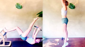 23 MIN Circle of Fire Sculpt + 30 MIN Low Impact HIIT by Gone Adventuring