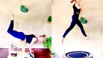 21 MIN Long Strong Chair Sculpt + 23 MIN High Flying Cardio by Gone Adventuring