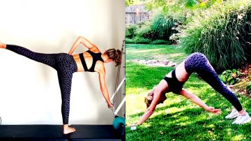 28 MIN Tower Barre Sculpt + 20 MIN Total Body-Weight Only HIIT Sweat