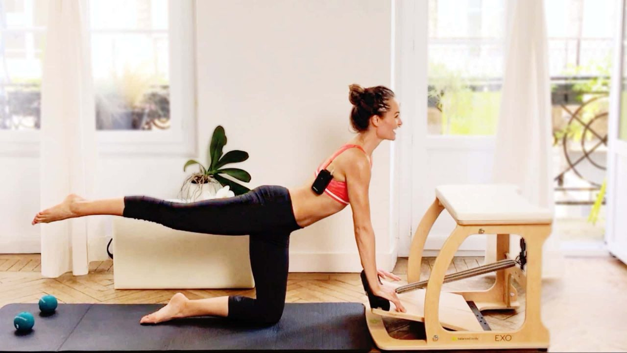 Pilates Chair Workout: Core & Hamstrings by Gone Adventuring