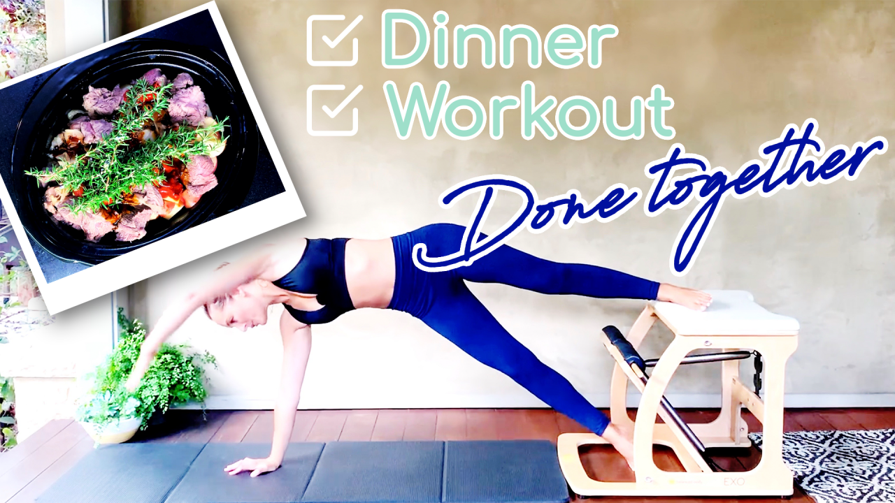 Eat Well, Train Hard: Dinner & Workout - Done in one! by Gone Adventuring