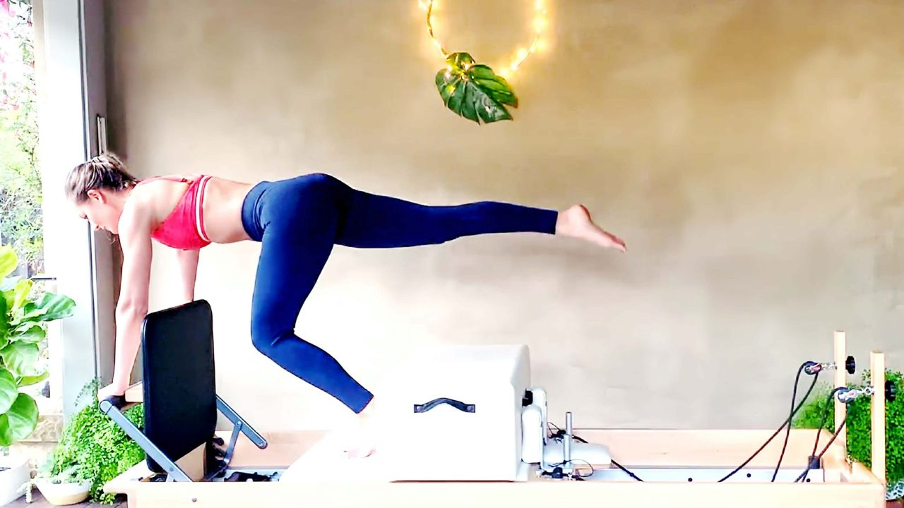 Day 5: Pilates Jumpboard Cardio Cleanse, Strength training for fat loss by Gone Adventuring