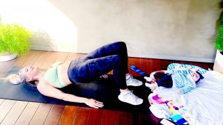 Postpartum Workout 0-6 weeks, Pelvic Floor & Core Activation by Gone Adventuring