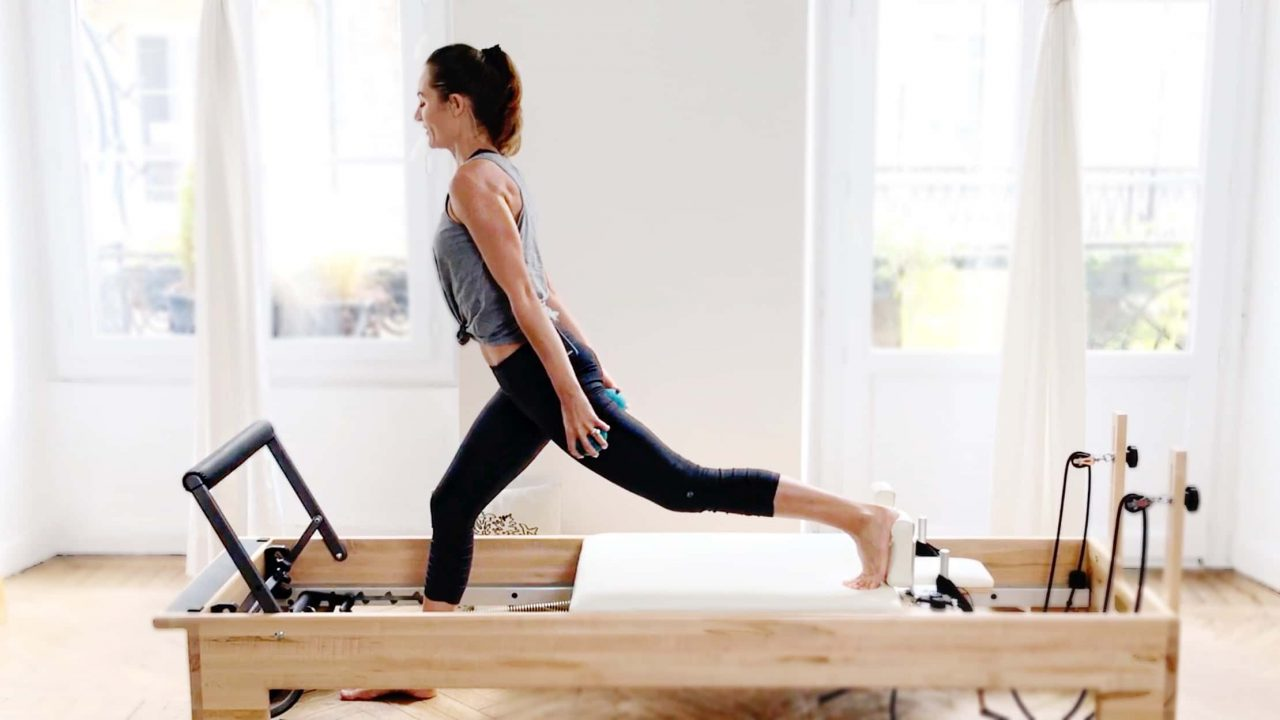 Lower Body Lunge Party, Reformer Weighted Workout - Gone Adventuring