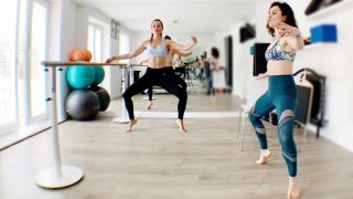 Plié workout at the Barre with Hilal Leigh - Gone Adventuring