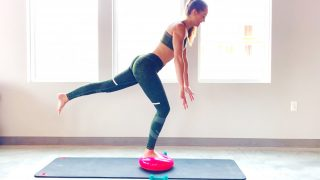 Get moving! BBe Quick Mat Workout (Booty & Balance) -Gone Adventuring