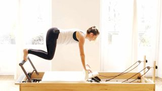 upper body Reformer workout - Back Body Power by Gone Adventuring