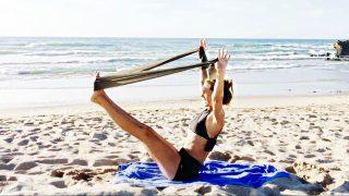 hips glutes thighs sculpt - Beach Band Lean Legs by Gone Adventuring