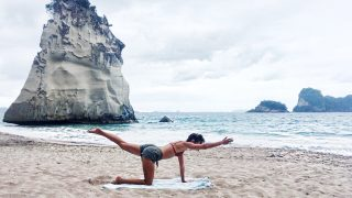 trim waist flat abs Carved CORE in Coromandel by Gone Adventuring