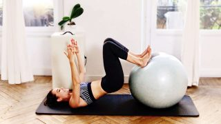 Fit Ball Challenge Day 3: Inner thighs, hamstrings, core - Gone Adventuring