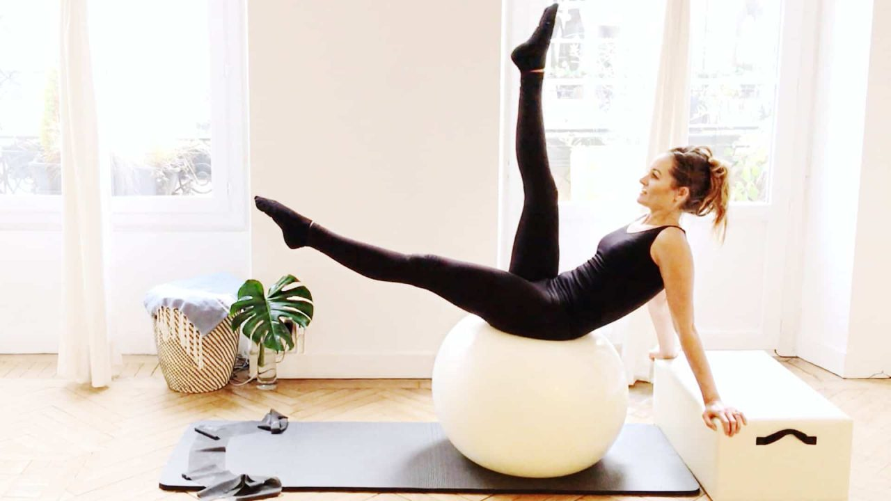 TTBS fitball workout - Fit Body Sculpt by Gone Adventuring