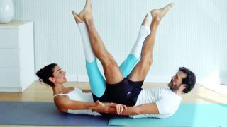 Partner Pilates Mat Class Live Replay with Cloè & Aron