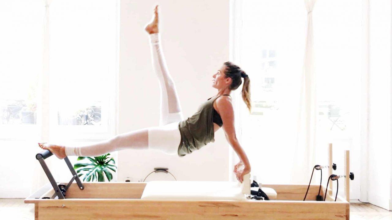 Pilates cross training TTBS Reformer & Mat + workout -Gone Adventuring