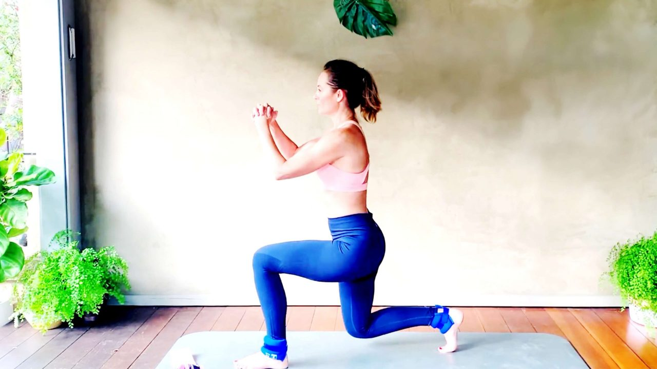 Ankle Weight Exercises for Glutes & Thighs, bringing back the 80's lol! by Gone Adventuring