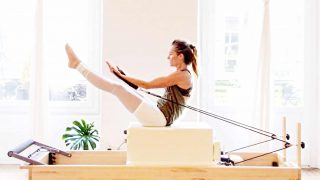 full body fitness Pilates The Magic Reformer workout by Gone Adventuring