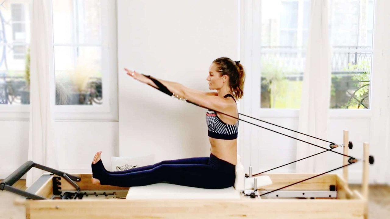 Seated Tall Postural PILATES EXERCISE Tutorial by Gone Adventuring