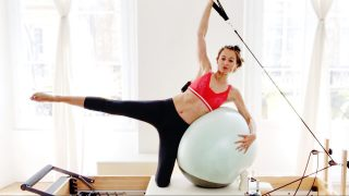 Fitball Reformer Tone & Firm Mad Mash-up by Gone Adventuring
