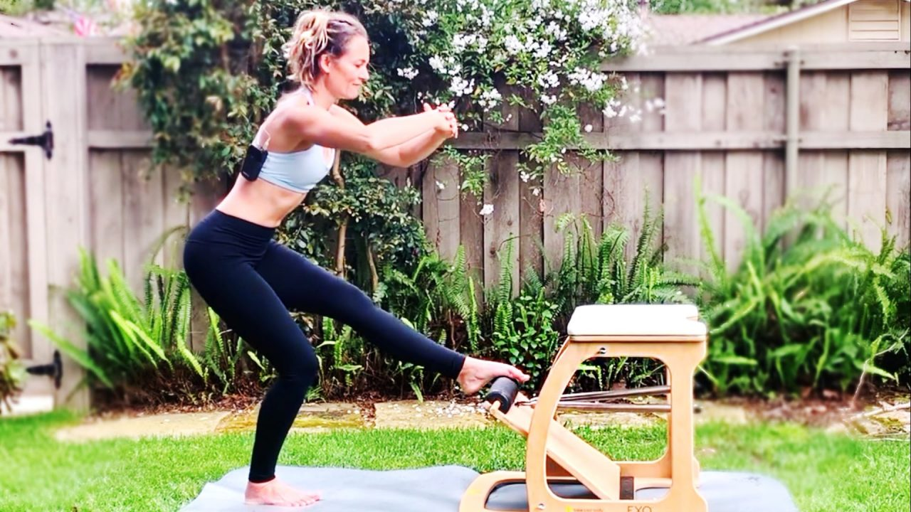 Lower Body Burn-out on the PILATES CHAIR by