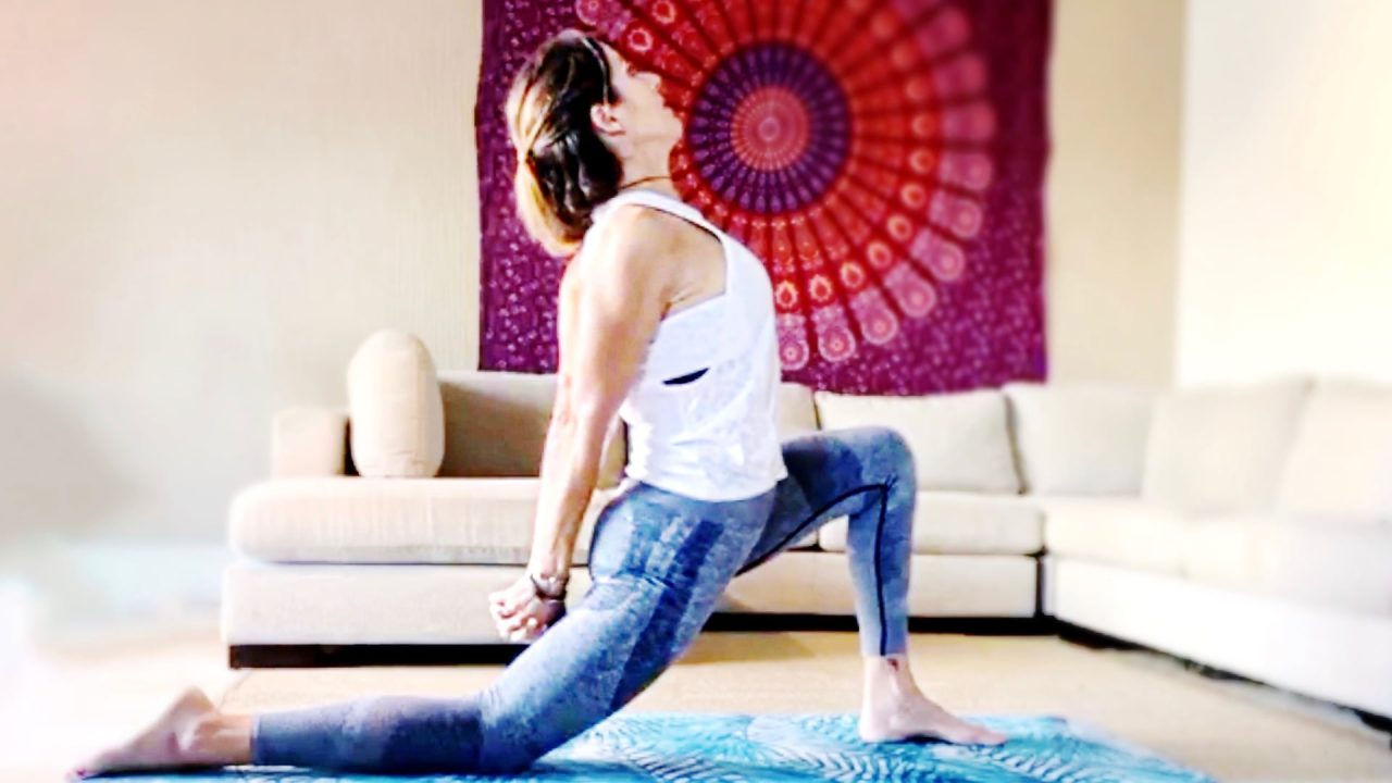 Pilates Mat Workout, Stretch & Strength Flow with Paola, Live Replay on Gone Adventuring