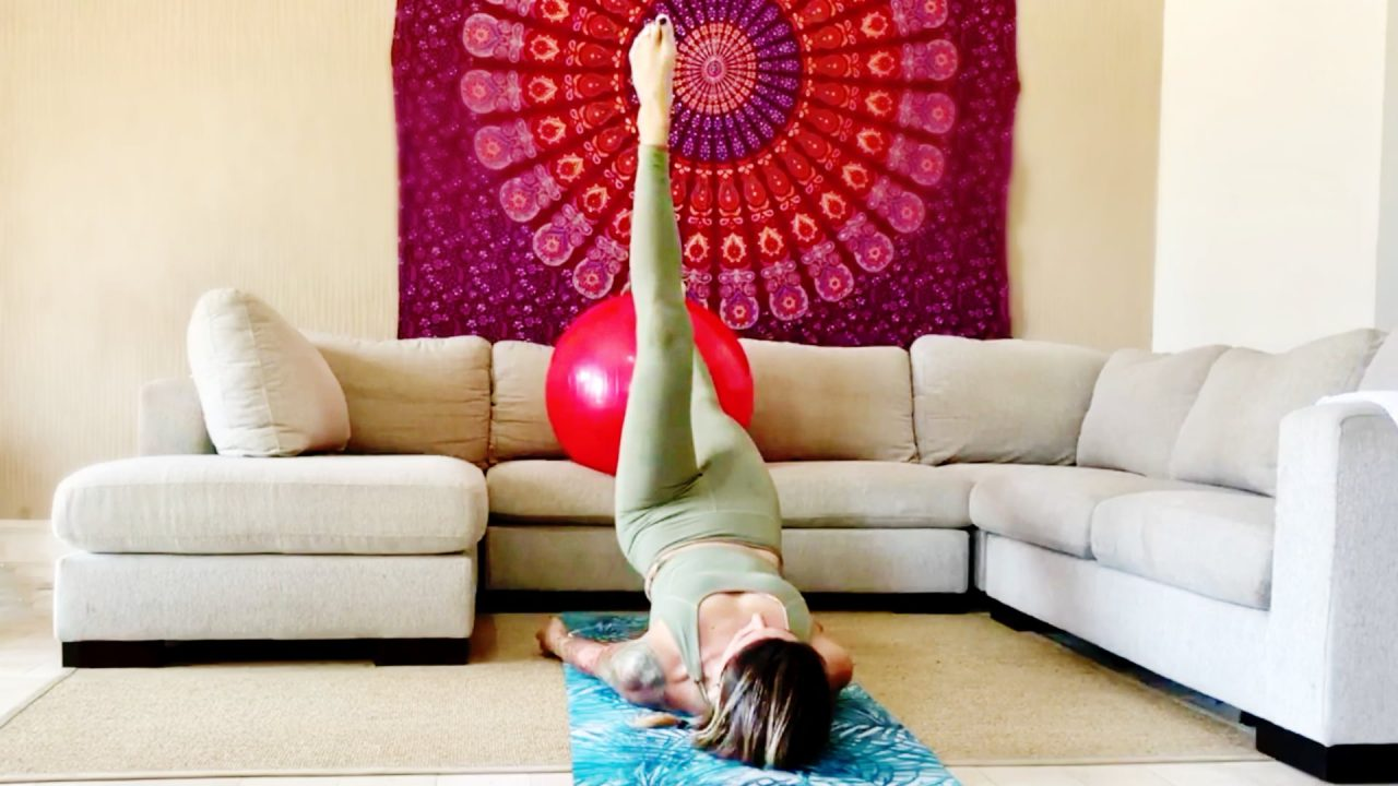 Abs + Booty Fit, Rolling & Flowing Strong with Paola, Live Replay on Gone Adventuring