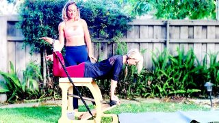 Total Body Toning Chair Workout by Gone Adventuring
