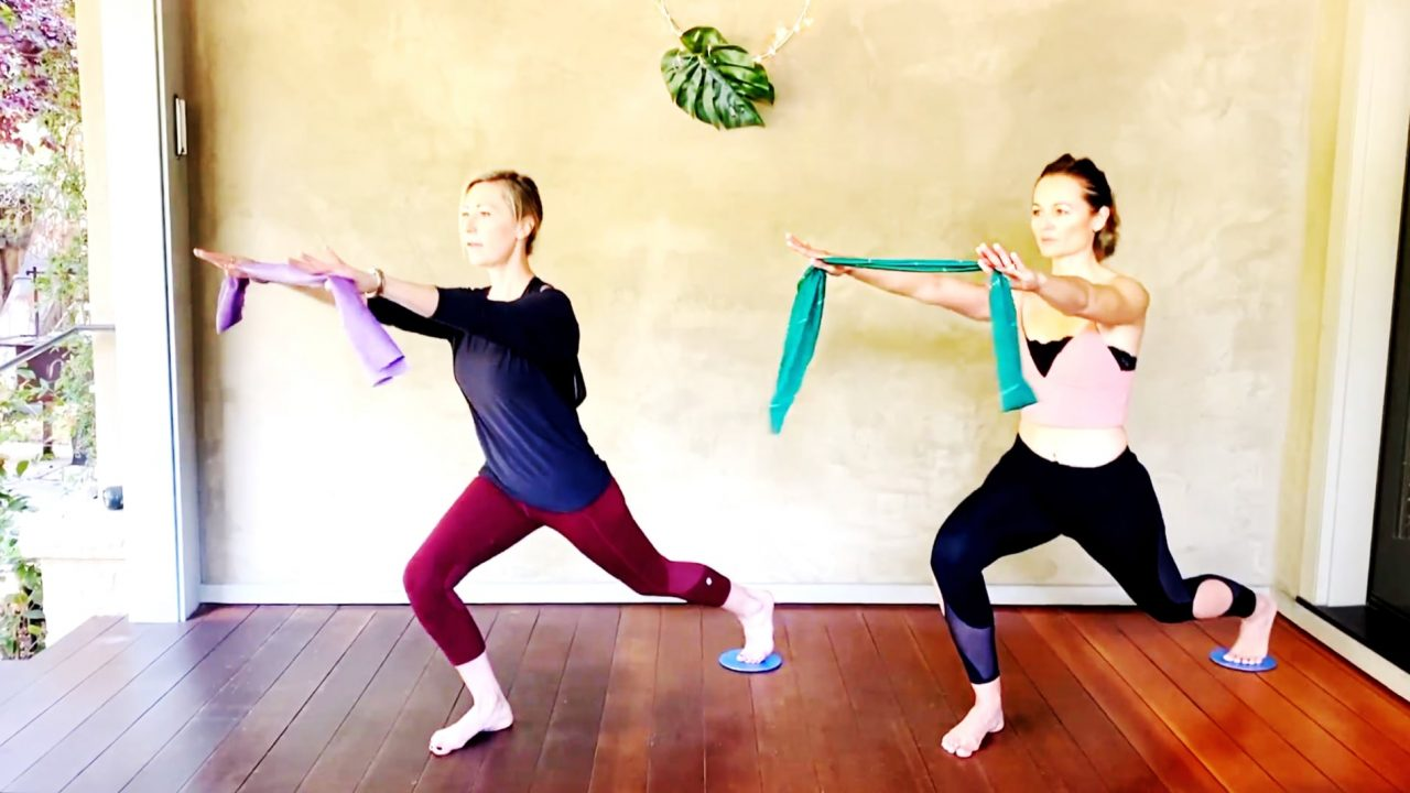 Cardio Lower Body & Upper Body Endurance, 2-Part Workout by Gone Adventuring