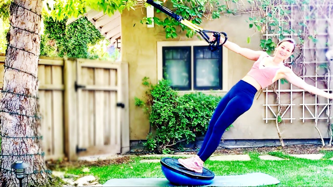 Total Body Sculpting Suspension Workout by Gone Adventuring