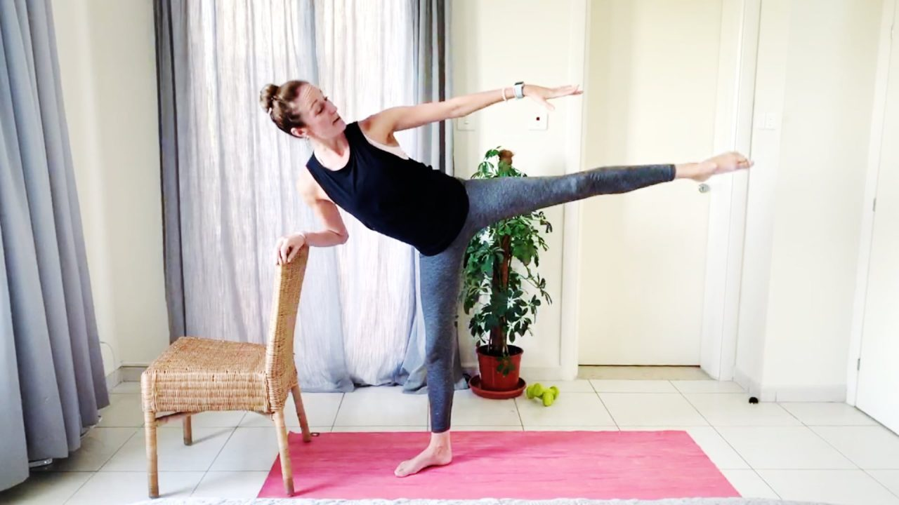 Victoria's Booty & Balance Barre Workout by Gone Adventuring