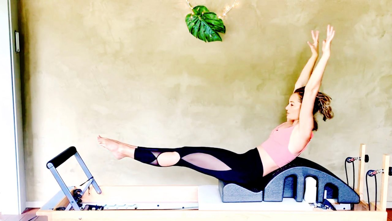 Cardio Sweat Workout on the Reformer, Live Replay by Gone Adventuring