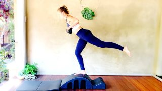 total body lean sculpt live class by Gone Adventuring