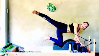 Quick Lean Legs on-the-fly PILATES REFORMER by Gone Adventuring