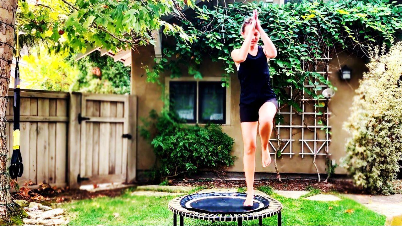 Bounce, Barre & Plyometrics Workout, 3 in 1 by Gone Adventuring Rebounding Workout