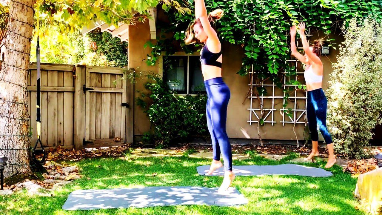 30 Min Thighs & Cardio Toning Leg Burner by Gone Adventuring