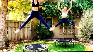 Cardio & Strength Rebounding Workout by Gone Adventuring