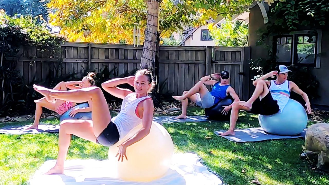 Toned Arms and Tight Abs Workout - Upper Body Makeover, Live replay by Gone Adventuring