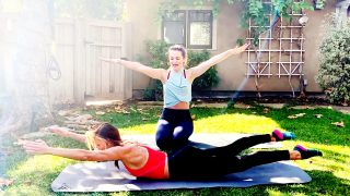 How to do Pilates, Progressive Beginner, Mat Part 3 by Gone Adventuring