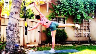 TRX Workout at home - A new way to do your BARRE work! by Gone Adventuring