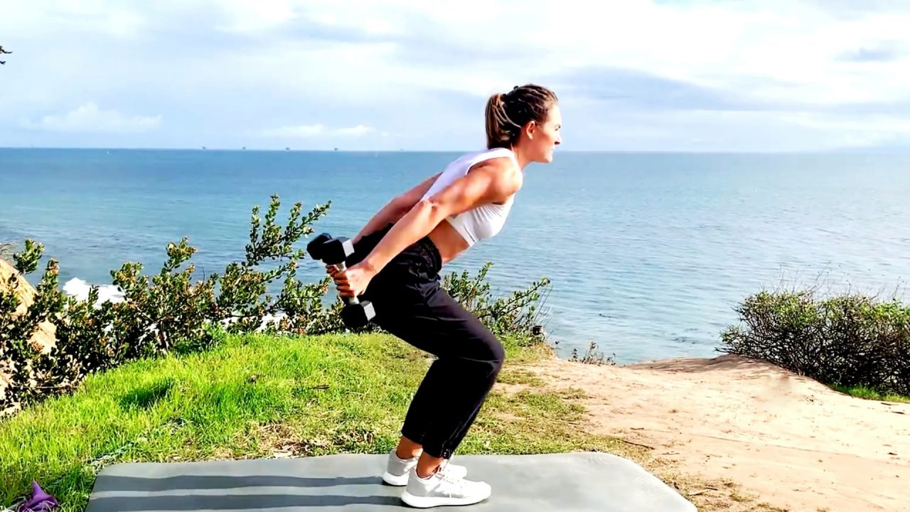 Day 9: Strong Arms, Strong Shoulders - Planks Away over the sea! by Gone Adventuring