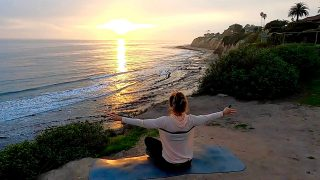 Day 24: Shoulder Stretches at Sunset and more with Gone Adventuring