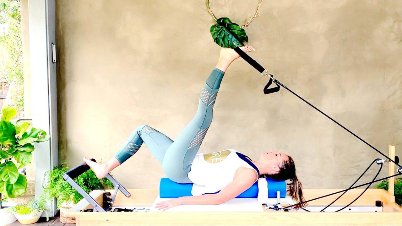 Day 24: Full Body Foam Roller Reformer Stretch & Massage by Gone Adventuring