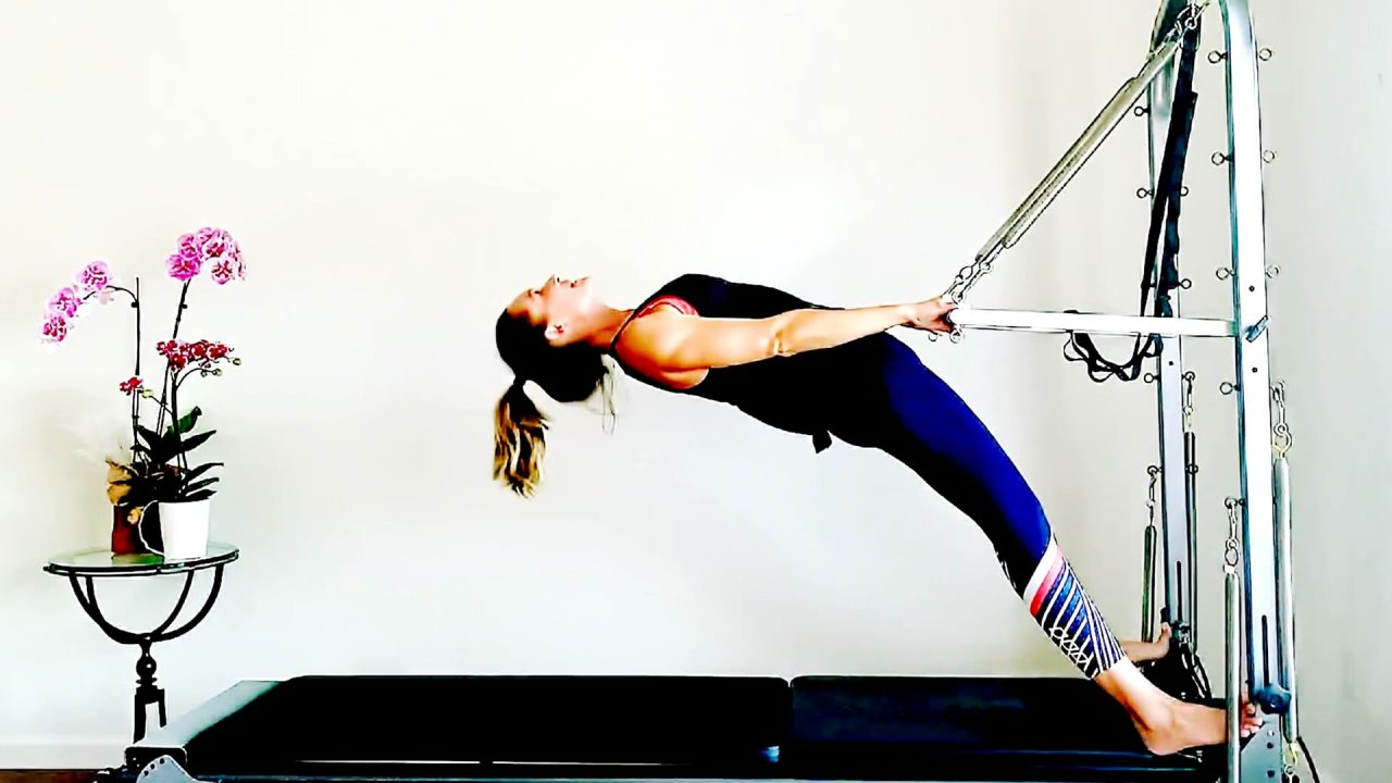 Full Body Feel Good Workout with the Tower or Springboard by Gone Adventuring