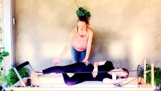 Prenatal Pilates Reformer Workout at 9 Weeks by Gone Adventuring
