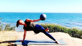 Bicycle and Scissor Kicks Abs, Summer Ready Core, Day 4 by Gone Adventuring