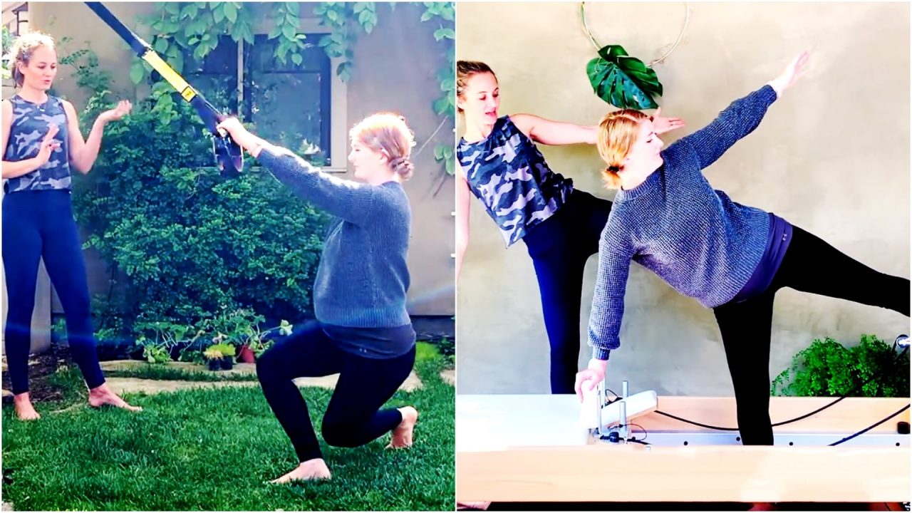 Prenatal Workout for Balance, Grace and Strength at 25 weeks by Gone Adventuring