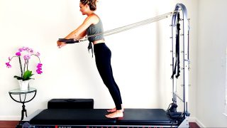Full Body Pilates Cadillac Feel Strong & Long Flow by Gone Adventuring