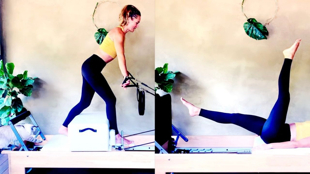 30 MIN Athletic Reformer Sculpt + 22 MIN Lean Leg Jumper Sweat by Gone Adventuring