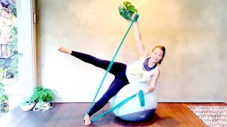 Total Body Tone & Flow, Lean Fit Ball, Live Replay