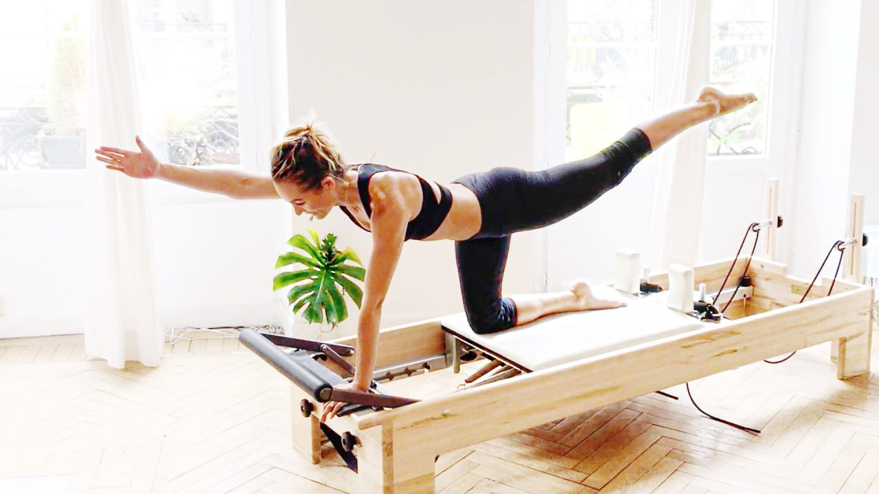 Sculpt Arms & Abs Superwoman Pilates Reformer fit by Gone Adventuring