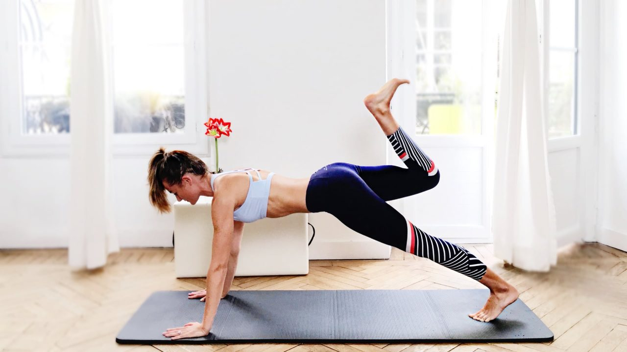lots of planks, Planking with the Flow PILATES MAT by Gone Adventuring